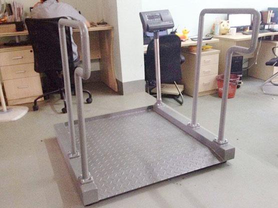 祝贺杏泰医疗科技(上海)有限公司于12月29日采购1套电子轮椅秤