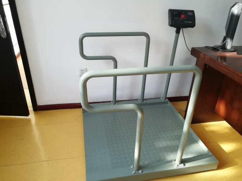 6月21日出售1台300kg轮椅秤给重庆凡康医疗设备公司