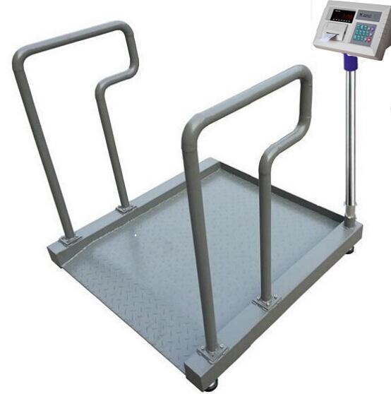 热烈祝贺安阳市泰祥医疗器械有限公司与上海升隆电子科技有限公司合作采购两套T605碳钢轮椅秤