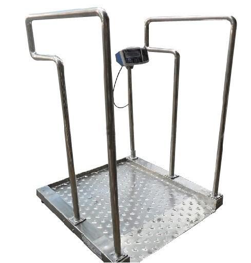 300KG血液透析轮椅秤,轮椅电子称