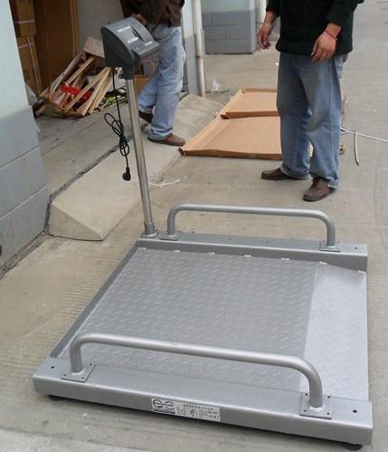 医院透析用轮椅秤-带扶手的轮椅电子体重秤