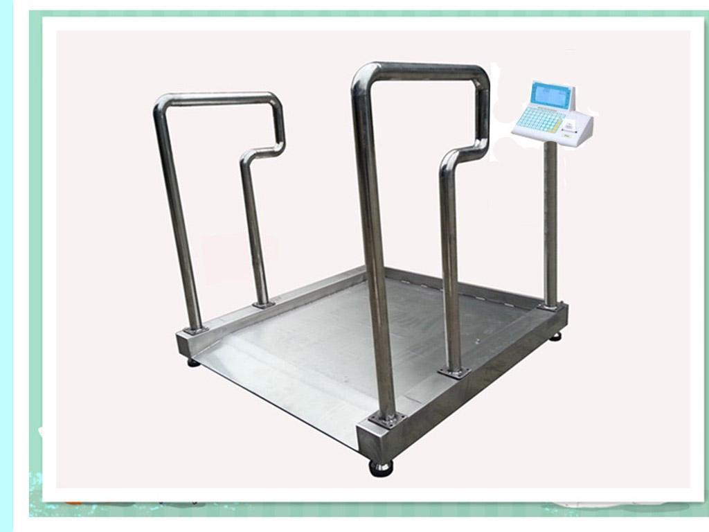 轮椅电子称,医用透析用轮椅秤