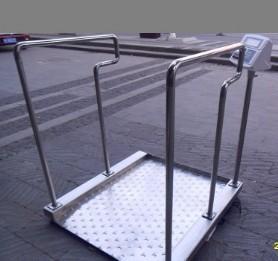 高级碳钢透析轮椅体重秤