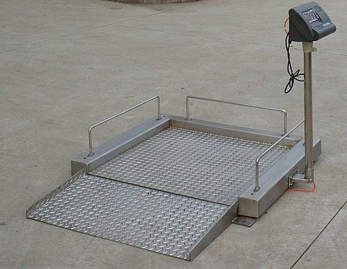 做檢查專用進口輪椅秤