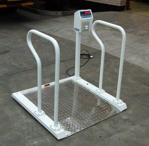 300千克血液透析轮椅秤,透析室电子秤