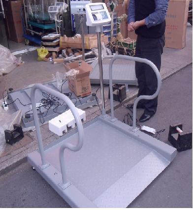 透析室电子秤,进口血液透析轮椅体重秤