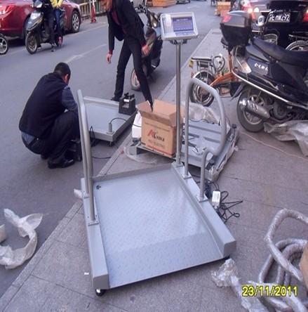 血液透析室电子秤,扶手透析轮椅电子秤