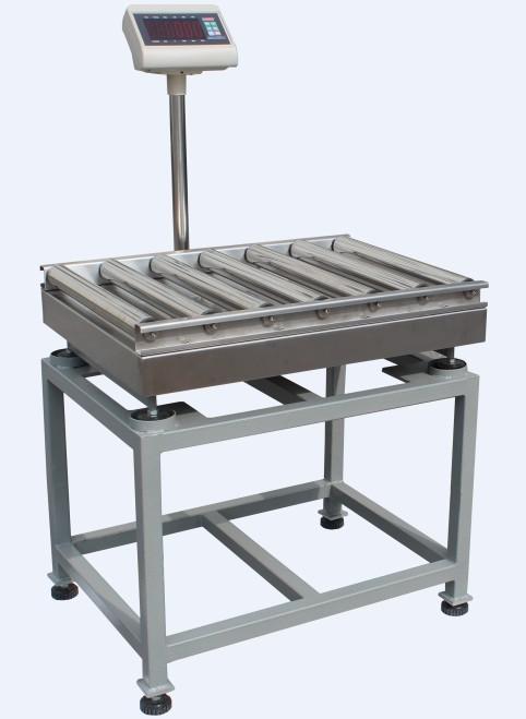 超重检测辊轮秤,辊筒电子秤生产