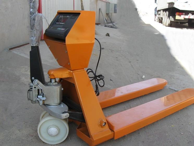 2500kg铲车电子秤,2.5T电子叉车秤